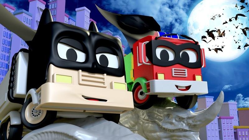 Малярная Мастерская Тома Бэтмен Френк и Робин малыш Френк мультфильм про машинки