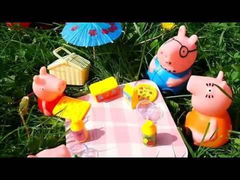 Мультики для детей Пеппа пикник Свинка Пеппа новая серия