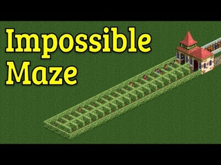 RollerCoaster Tycoon 2 - The Impossible Maze