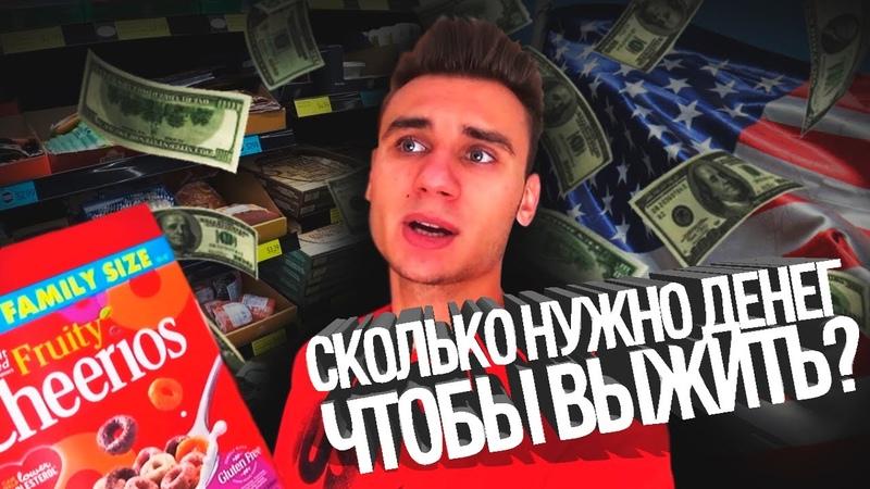 ЕДА В АМЕРИКЕ. Сколько стоит фастфуд. Русские магазины