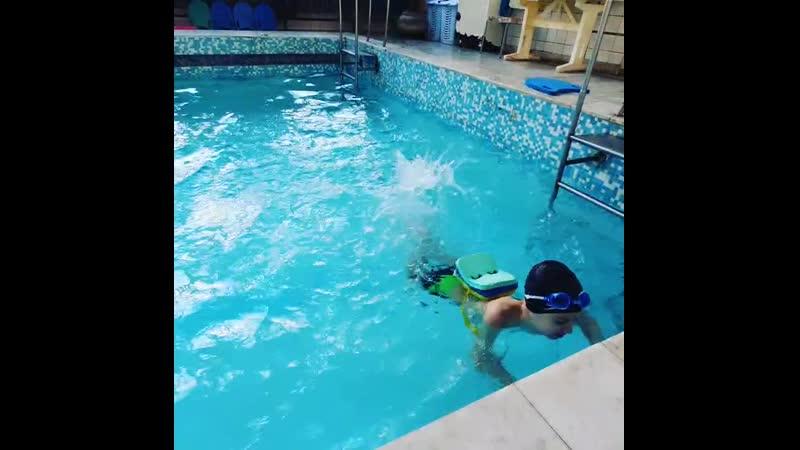Плавание для особенных детей 🐬