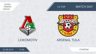 AFL19. Russia. Premier League. Day 13. Lokomotiv - Arsenal Tula.