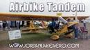 САМОЛЁТ УЛЬТРАЛАЙТ Airbike tandem experimental aircraft Jordan Lake aero' Tandem Airbike ultralight aircraft in Canada