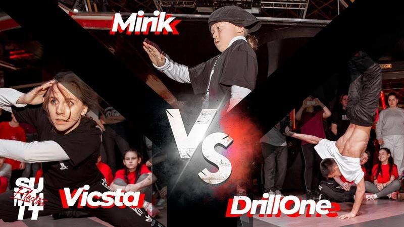 Vicsta vs Drill One vs Mirik STYLEZ 1x1 @ ELECTRO SUMMIT 2020 PSKOV