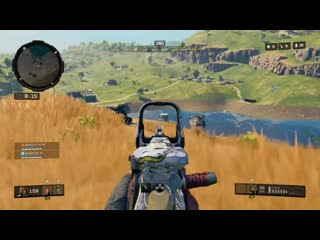 Camping at its best. this is why you watch your 6. black ops 4