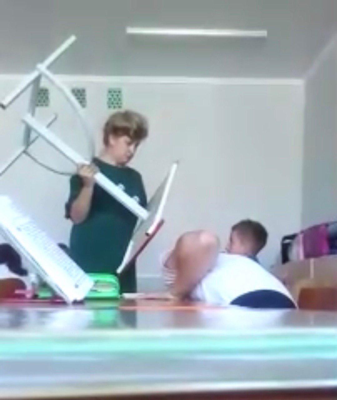 Школьный скандал в Беларуси