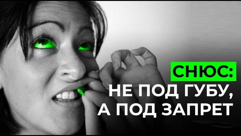 Снюсь Новая беда для наших детей Снюс под запрет