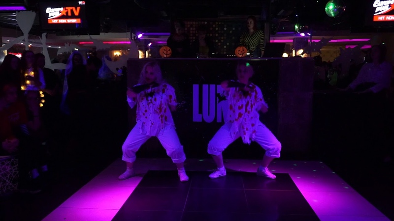 Billie Eilish bury a friend Cover Dance By CRASH ☆ k pop crazy halloween party 02 11 19