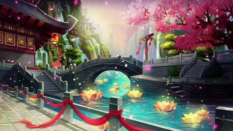 1小时中国传统音乐 笛子 古筝 二胡轻音乐 放松音乐 深度睡眠 - Hermosa Música China, Flauta de Bamb2