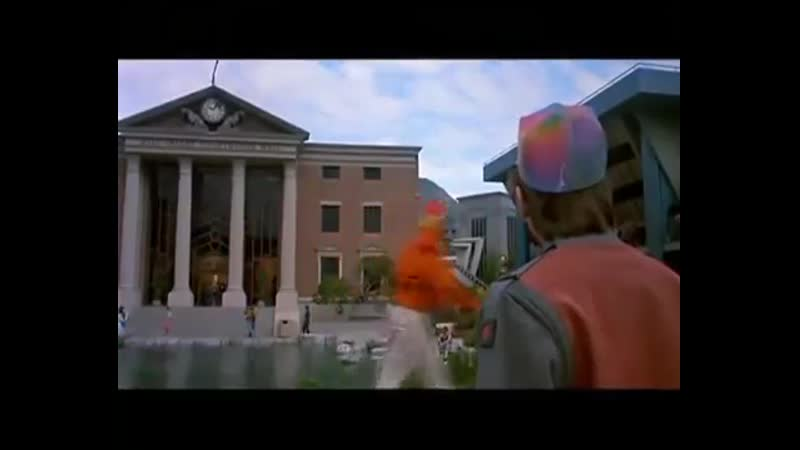Назад в будущее 2 Back to the Future Part II 1989 Как снимался фильм