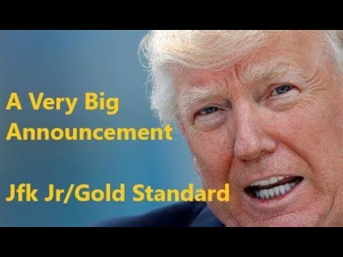 Trump's Got A Very Big Announcement JFK Jr Gold Tie Nobody Knows 2weeks