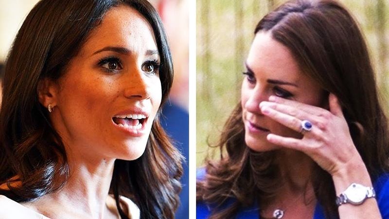 ROYAL FEUD REVEALED!! How Meghan Markle Humiliated Kate Middleton In Chelsea Flower Show!