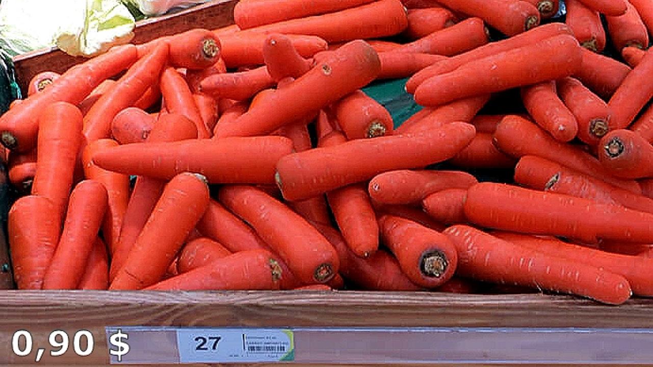 Цены на продукты и еду в Таиланде.  Kw11cmLrbbw