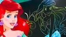 Классные детские видео про раскраску русалочка Ариэль надетский канал Happy Baby Channel.Мультики.
