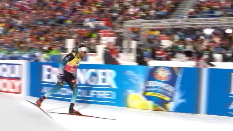 Биатлон Чемпионат мира 2020 Антхольц Антерсельва Мужская Индивидуальная гонка 20 км Индивидуалка мужчины 19 02 2020 Евровижн