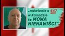 Jak kanadyjskie środowiska żydowskie oskarżyły mnie o mowę nienawiści! Andrzej Kumor w Realu24.
