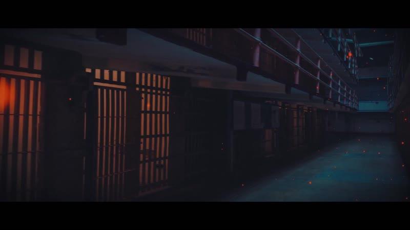 Тюрьма Алькатрас - Camera projection в After Effects (3D фото)