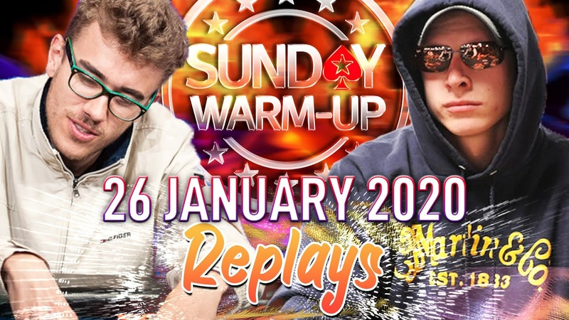 Sunday WARM UP gbmantis lissi stinkt germaxi PokerReplays 2020