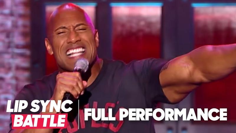Dwayne Johnson's Shake It Off vs Jimmy Fallon's Jump In The Line | Lip Sync Battle