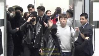 161201 ~ BTS arrival at Hong Kong airport
