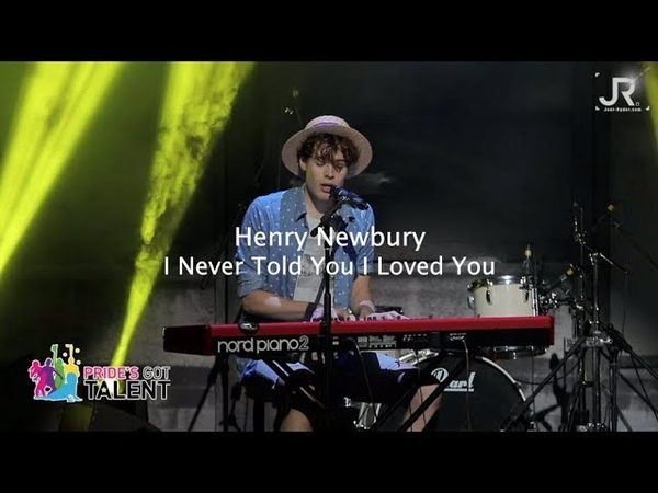 Henry Newbury - I Never Told You I Loved You Pride's Got Talent Music Finals 2019