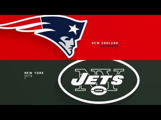 Nfl 2019-2020 / week 03 / / new york jets @ new england patriots