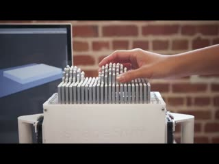 Stanford researchers design a touchable 3D printing display for the visually impaired