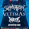 21.02 - Suffocation / Vltimas / Hate в СПб!