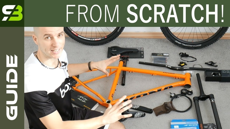 You CAN Do It Yourself. How To Build A Bike From Scratch. Beginners Guide.