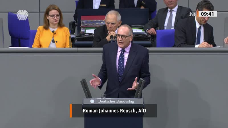 Strafverfahren an Landgerichten modernisieren! Roman Reusch AfD Fraktion im Bundestag 1080p 25fps H264 128kbit AAC