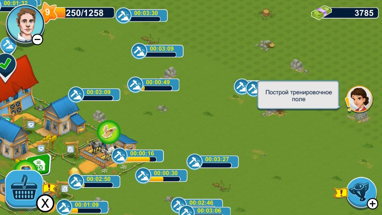 Обзор Horse Farm - Мобильный гейминг жив!, изображение №7