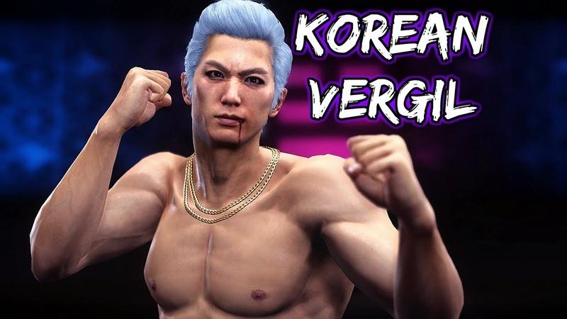 Yakuza 6: The Song of Life - Boss Battles: 10 - Korean Vergil (LEGEND)