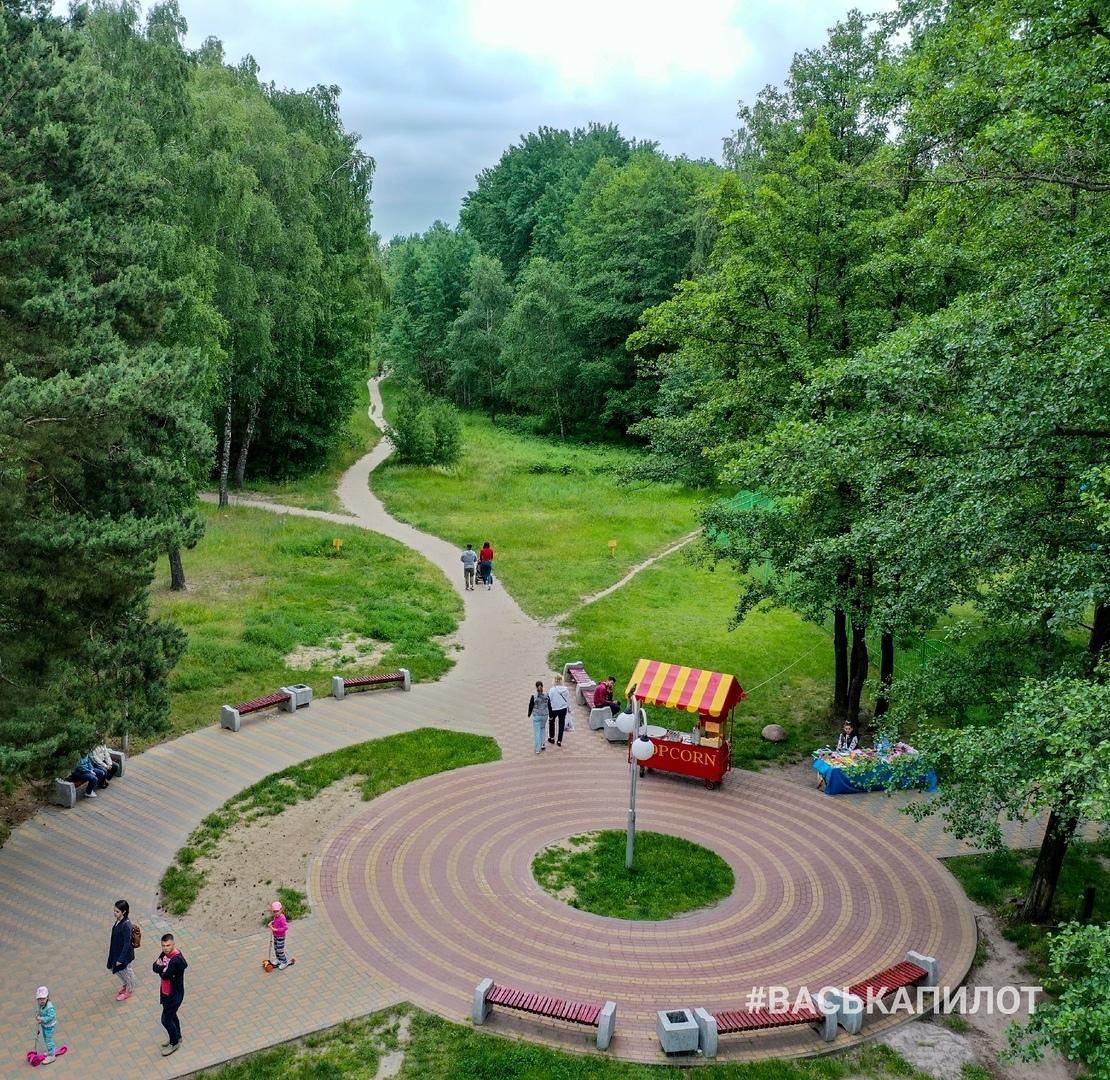Этот парк почти на окраине Бреста вы таким ещё точно не видели