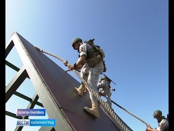 Морпехи России установили новый рекорд на втором этапе конкурса «Морской десант»