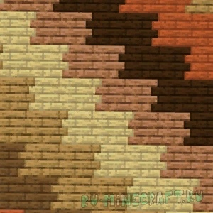майнкрафт с деревяннымт текстурами #5