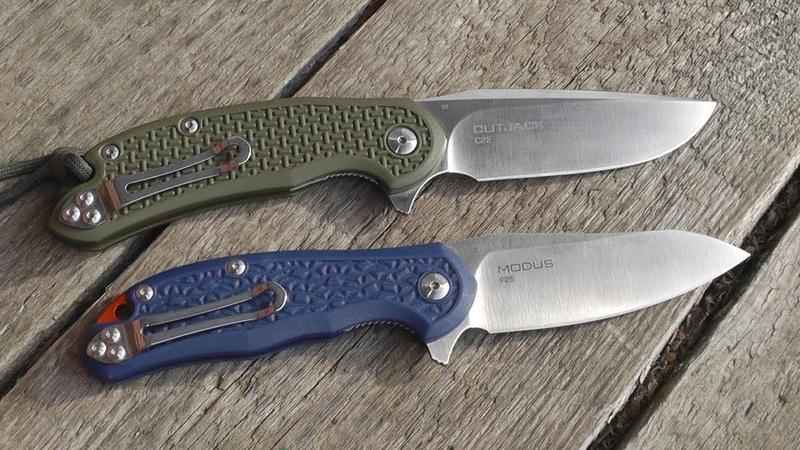 Нож Steel Will Modus D2 FRN F25 обзор и тесты, сравнение с Cutjack и другими