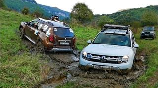 Сломать кардан на Дастере – легко! Штурм горы Баранаха и сплав на машинах по реке