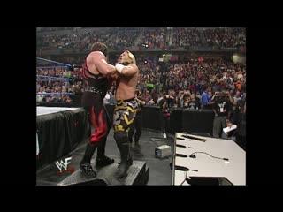 WWF SmackDown  - Chris Jericho & Undertaker vs Kurt Angle & Kane
