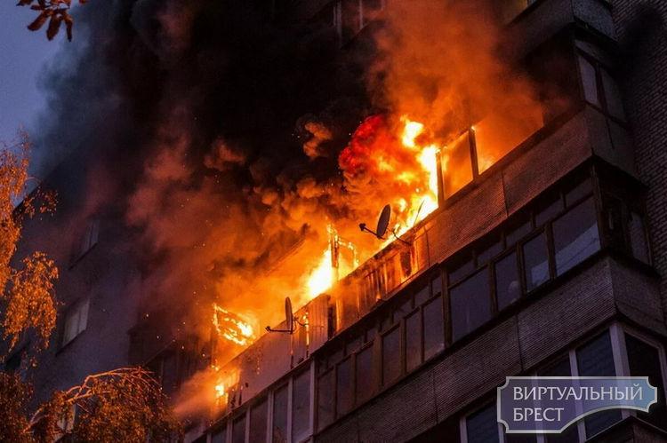 В городе Бресте за 5 месяцев 2020 года на территории города зарегистрировано 38 пожаров