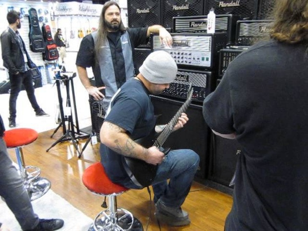 NAMM 2014 - Randall Booth: Wes Hauch