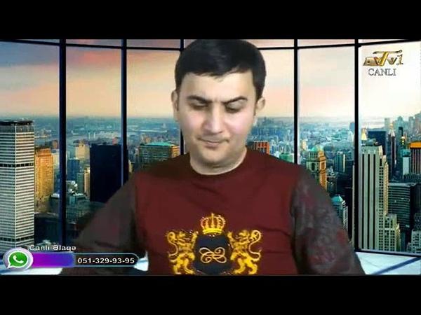 Zaur Vefalı AYTV1 Kanalında Qonaq oldum 12 03 2019