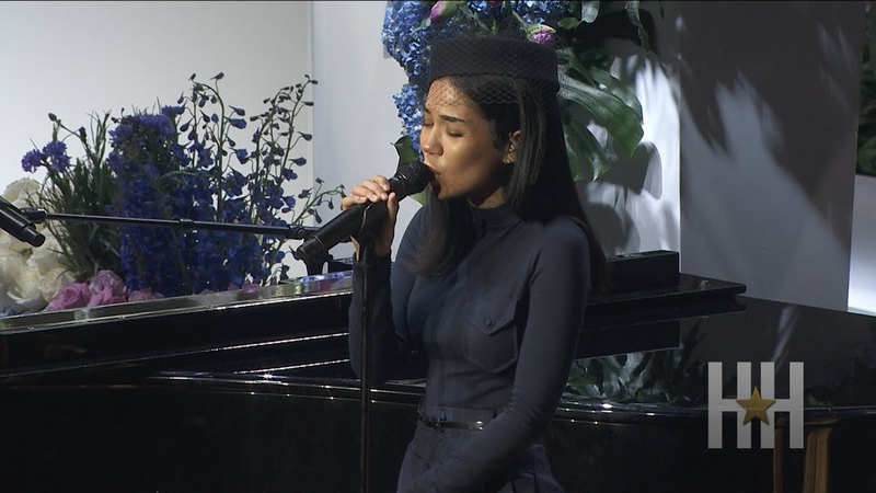 Jhené Aiko Performs At Nipsey Hussles Memorial Service