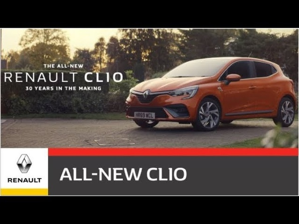 30 Years in the making   The All-New Renault CLIO