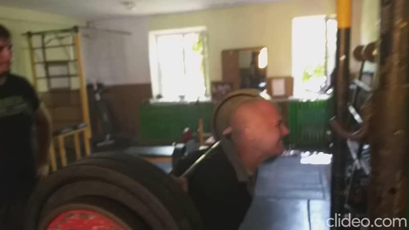Олексій Штацький. Присяд 100кг на 20 раз. ( 3 Підхода)