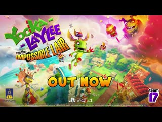 Yooka-Laylee and the Impossible Lair - Launch Trailer  PS4