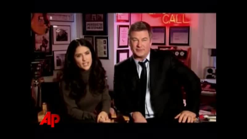 2008 Сальма Хайек и Алек Болдуин о сериале Тридцать потрясений 30 Rock