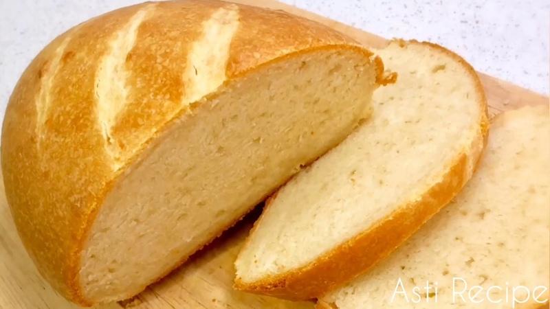 Хлеб на кефире - намного полезнее дрожжевого и не надо ждать расстойки теста, сразу печём