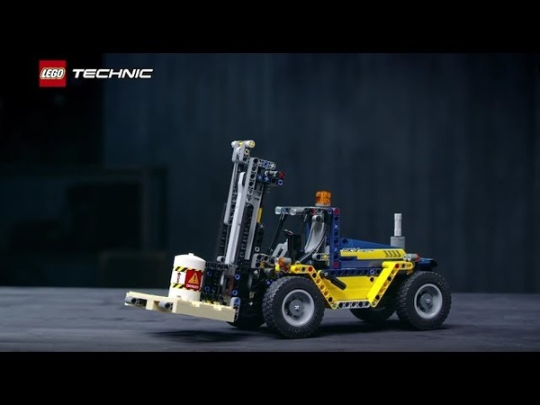 Встречайте Сверхмощный вилочный погрузчик LEGO Technic