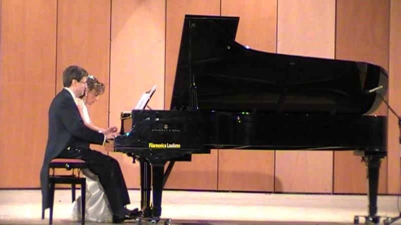 Tico-Tico no Fubá for piano 4 hands - Roberto Metro Elvira Foti