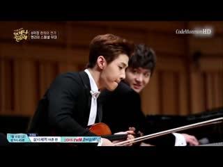 Henry (super junior) & shin jiho violin piano